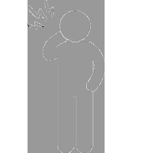 首の症状ピクトグラム